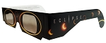 Eclipse Paper Glasses, Sun Circle Design - Set of 2