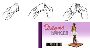 Degas Dancer Flipbook